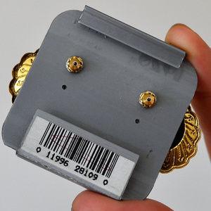1928 JEWELRY Jewelry - vintage 1928 JEWELRY gold Post EARRINGS